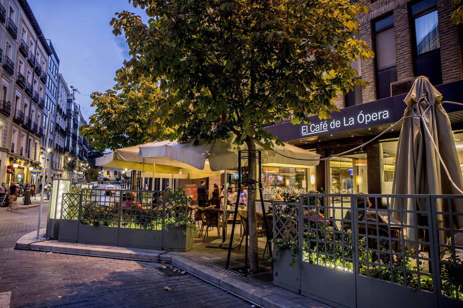 Terraza El Café de la Ópera